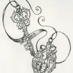 Lock Tattoos 6 150x150 - Lock Tattoos Design Ideas Pictures Gallery