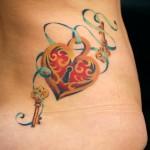 Lock Tattoos 7 150x150 - Lock Tattoos Design Ideas Pictures Gallery