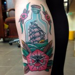 Ship in a bottle 1024x1024 150x150 - Bottle Tattoos Design Ideas Pictures Gallery