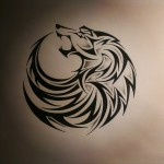 Tribal Wolf Tattoo Designs 150x150 - Wolf Tattoos Design Ideas Pictures Gallery