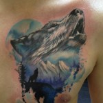 Wolf Tattoo 5 150x150 - Wolf Tattoos Design Ideas Pictures Gallery
