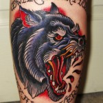 Wolf Tattoo Designs 7 150x150 - Wolf Tattoos Design Ideas Pictures Gallery