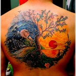 Yin Yang Tattoo Designs 14 150x150 - Yin Yang Tattoos Design Ideas Pictures Gallery