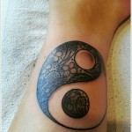 Yin Yang Tattoo 150x150 - Yin Yang Tattoos Design Ideas Pictures Gallery