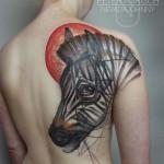 Zebra tattoo 150x150 - Zebra Tattoos Design Ideas Pictures Gallery