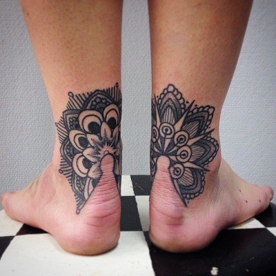 a10 - Ankle Tattoo Design Ideas Pictures Gallery