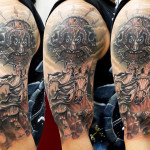 artist kobay tattoo tattoo 0251368463403 150x150 - Warrior Tattoos Design Ideas Pictures Gallery