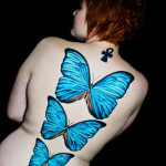 blue butterfly tattoos 682x1024 150x150 - 100's of Butterfly Tattoo Design Ideas Picture Gallery