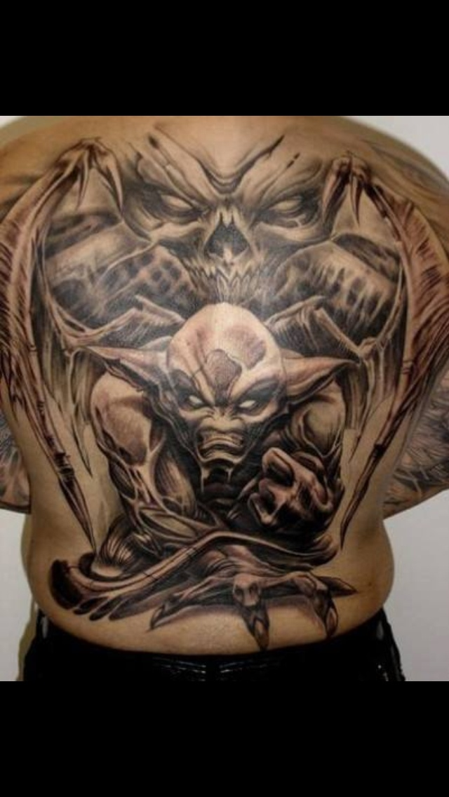 Demon Tattoos Design Ideas Pictures Gallery