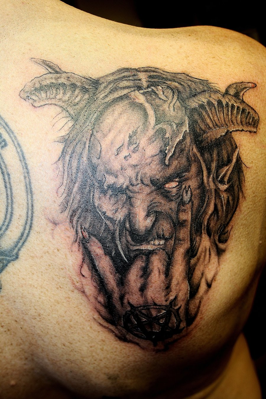 demon tattoo 7 - Demon Tattoos Design Ideas Pictures Gallery