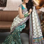 embroided bridal sarees 1 150x150 - Banarasi Saree Design Ideas Pictures Gallery