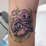 ghost tattoo 11 150x150 - Ghost Tattoos Design Ideas Pictures Gallery