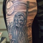 ghost tattoo 13 150x150 - Ghost Tattoos Design Ideas Pictures Gallery