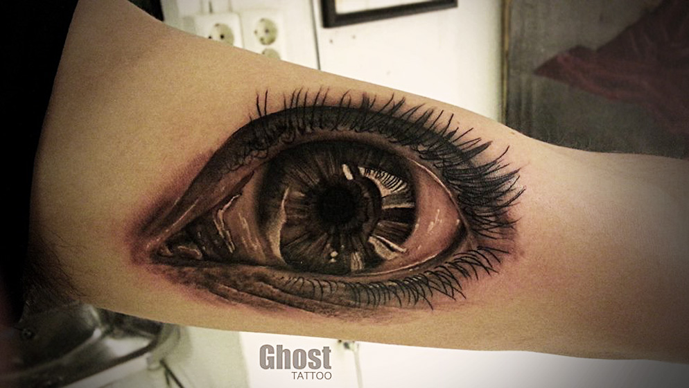 Ghost Tattoos Design Ideas Pictures Gallery
