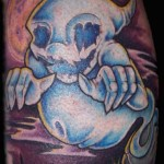 ghost tattoo 3 150x150 - Ghost Tattoos Design Ideas Pictures Gallery