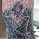 ghost tattoo 6 150x150 - Ghost Tattoos Design Ideas Pictures Gallery