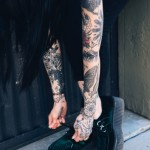 s91 150x150 - Sleeve Tattoos Design Ideas Pictures Gallery