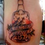 bottle tattoos