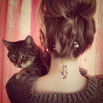 small cat tattoo 150x150 - Small Tattoos Design Ideas Pictures Gallery