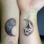 stylized yin yang1 150x150 - Yin Yang Tattoos Design Ideas Pictures Gallery