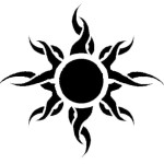 sun tattoos 6 150x150 - Sun Tattoos Design Ideas Pictures Gallery