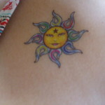 sun tattoos 8 150x150 - Sun Tattoos Design Ideas Pictures Gallery