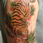 tiger tattoos 12 150x150 - Tiger Tattoos Design Ideas Pictures Gallery