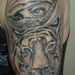 tiger tattoos 15 150x150 - Tiger Tattoos Design Ideas Pictures Gallery