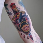 tumblr ndwjwb1Hyb1rn3yyfo1 400 150x150 - Basketball Tattoos Design Ideas Pictures Gallery