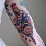 tumblr ndwjwb1Hyb1rn3yyfo1 400 150x150 - Basketball Tattoos Design Ideas Pictures Gallery