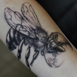 tumblr nh78fyAxA31rn3yyfo1 400 150x150 - Bee Tattoos Design Ideas Pictures Gallery