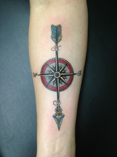 Arrow Tattoos Design Ideas Pictures Gallery
