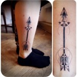 tumblr ni2jplHqhw1rn3yyfo1 400 150x150 - Arrow Tattoos Design Ideas Pictures Gallery