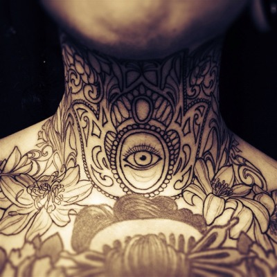 Neck Tattoos Design Ideas Pictures Gallery