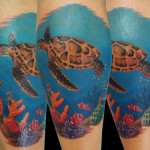 turtle tattoo 9 150x150 - Turtle Tattoos Design Ideas Pictures Gallery