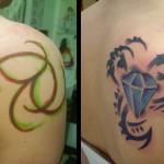 vine tattoos 1 150x150 - Vines Tattoos Design Ideas Pictures Gallery