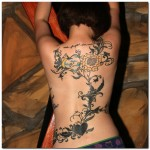 vine tattoos 12 150x150 - Vines Tattoos Design Ideas Pictures Gallery