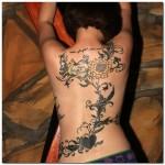 vine tattoos 12 150x150 - Vines Tattoos Design Ideas Pictures Gallery