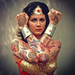 wonder woman tattoos 150x150 - Wonder Woman Tattoos Design Ideas Pictures Gallery