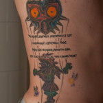 zelda majora s mask tattoo by ncfk d6lsva4 150x150 - Zelda Tattoos Design Ideas Pictures Gallery