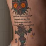 zelda majora s mask tattoo by ncfk d6lsva4 150x150 - Zelda Tattoos Design Ideas Pictures Gallery