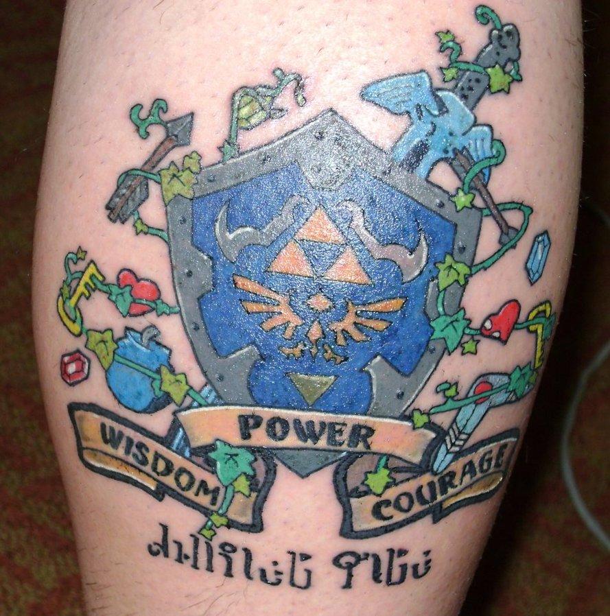Zelda Tattoos Design Ideas Pictures Gallery