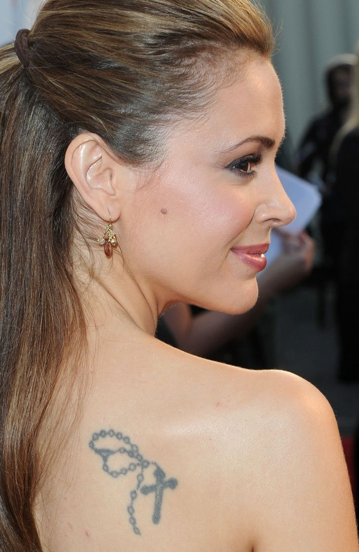 100's of Alyssa Milano Tattoo Design Ideas Picture Gallery
