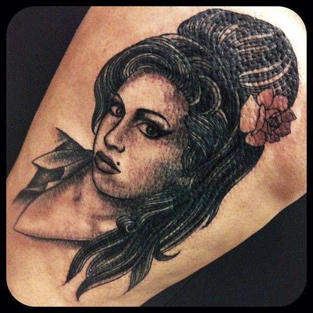 100's of Amy Winehouse Tattoo Design Ideas Picture Gallery