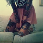 12990 cool sleeve tattoos for girls large 150x150 - 100's of Girl Tattoo Design Ideas Picture Gallery