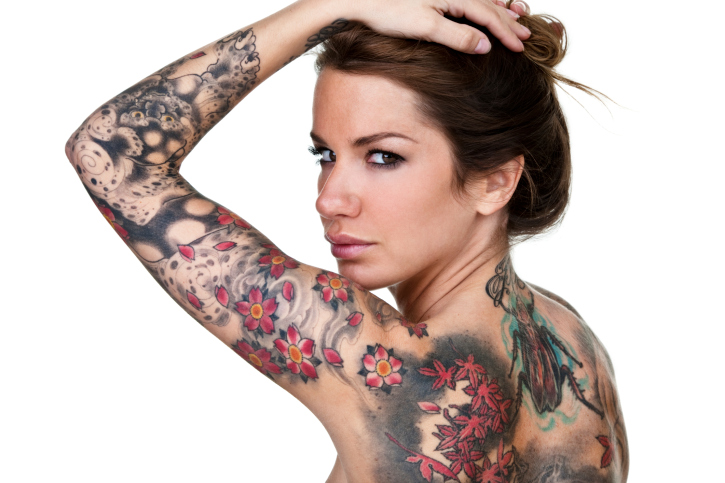 100's of Woman Tattoo Design Ideas Picture Gallery
