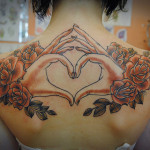 16 Heart Tattoo1 150x150 - 100's of Heart Tattoo Design Ideas Picture Gallery