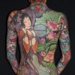 50 japanese tattoo on back 150x150 - 100's of Japases Tattoo Design Ideas Picture Gallery