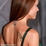 Alyssa Milano Neck Shoulder Tattoos Meaning 150x150 - 100's of Alyssa Milano Tattoo Design Ideas Picture Gallery