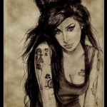 Amycartoon 150x150 - 100's of Amy Winehouse Tattoo Design Ideas Picture Gallery